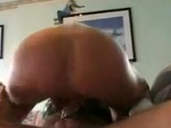 Pretty, young wife loves dildo in her ass