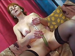 granny needs her daily cock