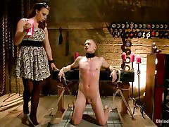 chanel preston tortures pain slut with wax