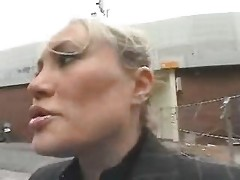 Young Guy Seduce A Busty Mamma In The Street And Fuck Her